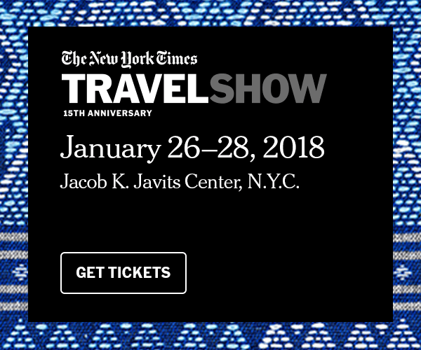 New York Times Travel Show 2018