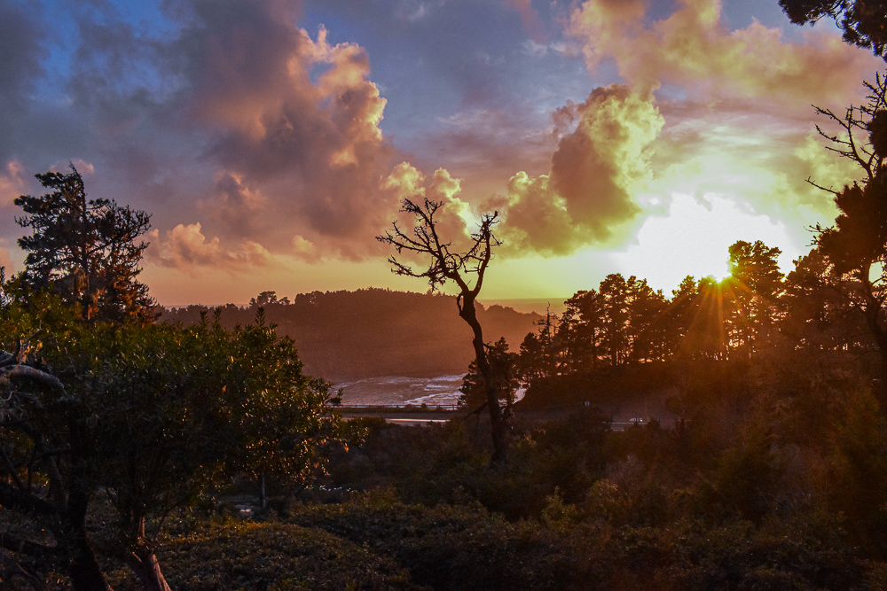 Views of the California Coast from Brewery Gulch Inn in Mendocino is one the best hidden gems.